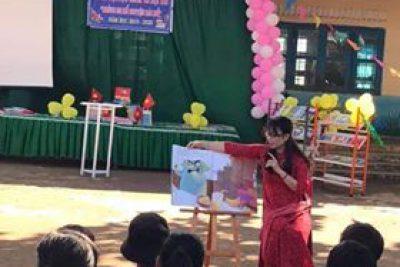 Ngày hội đọc sách và hội thi Đội em kể chuyện Bác Hồ